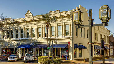 Photograph - Fernandina Beach Historic District by Paula Porterfield-Izzo
