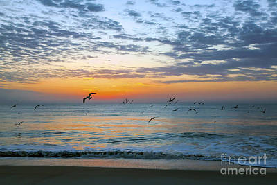Photograph - Fernandina Beach Sunrise by Lynn Palmer