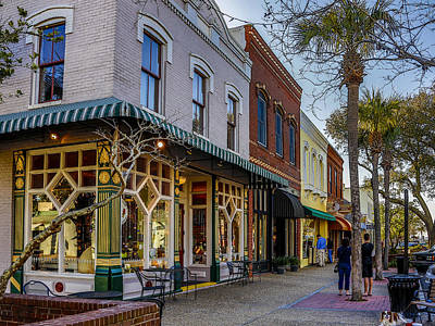 Photograph - Fernandina Fudge Shop by Paula Porterfield-Izzo