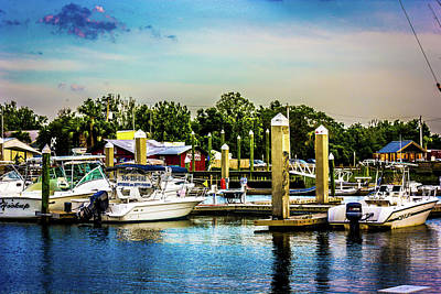 Photograph - Fernandina Marina by Barry Jones