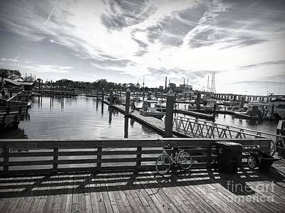 Photograph - Fernandino Beach Dock 2 by Luther Fine Art