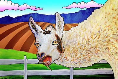 Fernando Llama Original by Phil Dynan