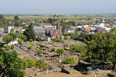 Photograph - Ferndale Cemetary Humboldt County California Dsc5439 by Wingsdomain Art and Photography