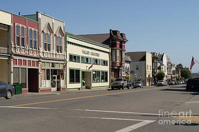 Photograph - Ferndale Humboldt County California Valley Grocery Dsc5451 by Wingsdomain Art and Photography