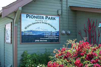 Photograph - Ferndale Pioneer Park by Tom Cochran