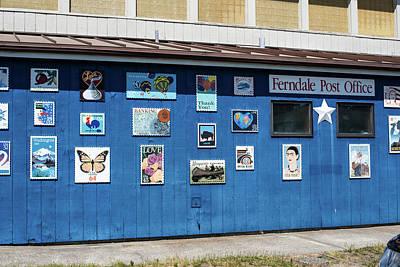 Photograph - Ferndale Post Office by Tom Cochran