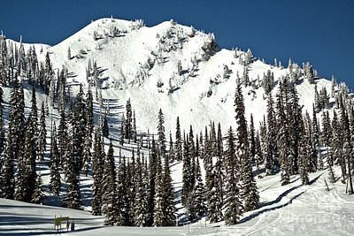 Photograph - Fernie Skiers Paradise by Adam Jewell