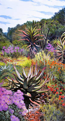 Painting - Fernkloof Fynbos by Christopher Reid