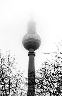 Photograph - Fernsehturm Fog by John Rizzuto