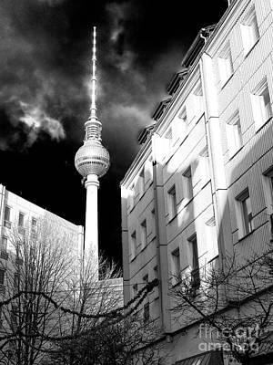 Photograph - Fernsehturm Glow by John Rizzuto