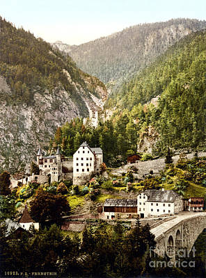 Painting - Fernstein Tyrol Austro-hungary by Celestial Images