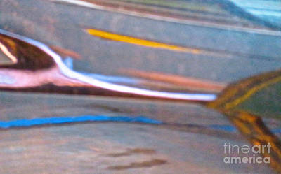 Amorphous Metal Photograph - Ferrari 15 Abstract by Ken Lerner