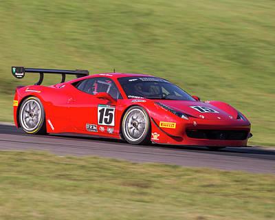 Photograph - Ferrari #15 Cohen by Alan Raasch