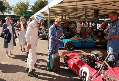 Photograph - Ferrari 1512 by Robert Phelan