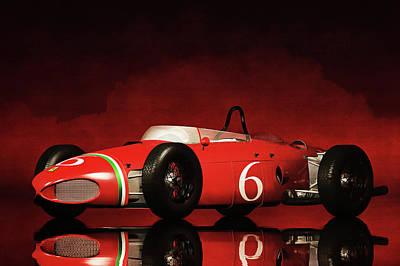 Painting - Ferrari 156 by Jan Keteleer