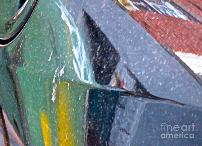Amorphous Metal Photograph - Ferrari 2 Abstract by Ken Lerner