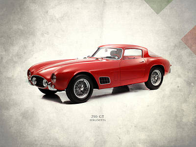 Photograph - Ferrari 250 Gt 1956 by Mark Rogan