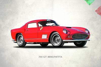 Photograph - Ferrari 250 Gt 1958 by Mark Rogan