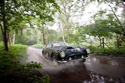 Ferrari 250 Swb Splash Art Print