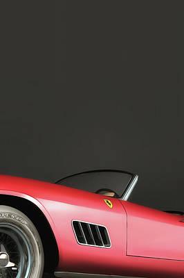 Digital Art - Ferrari 250gt by Jan Keteleer