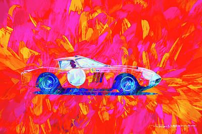 Digital Art - Ferrari 250gto by Roger Lighterness
