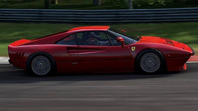 Photograph - Ferrari 288 Gto - 13 by Andrea Mazzocchetti