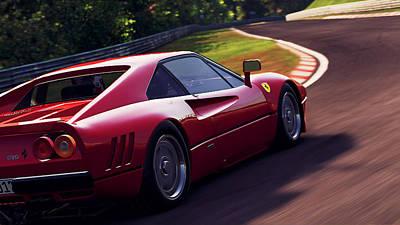 Photograph - Ferrari 288 Gto - 14 by Andrea Mazzocchetti
