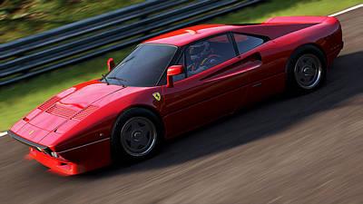 Photograph - Ferrari 288 Gto - 16 by Andrea Mazzocchetti