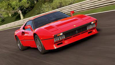 Photograph - Ferrari 288 Gto - 17 by Andrea Mazzocchetti