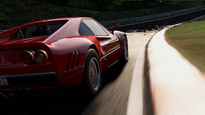 Photograph - Ferrari 288 Gto - 18 by Andrea Mazzocchetti