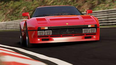 Photograph - Ferrari 288 Gto - 20  by Andrea Mazzocchetti