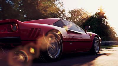 Photograph - Ferrari 288 Gto - 22  by Andrea Mazzocchetti