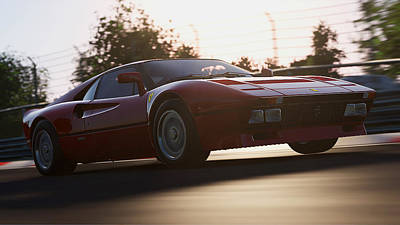 Photograph - Ferrari 288 Gto - 23 by Andrea Mazzocchetti