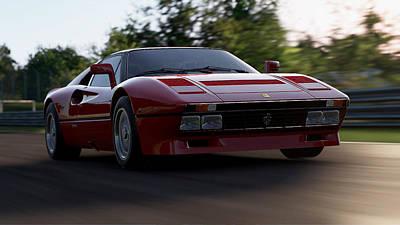 Photograph - Ferrari 288 Gto - 25 by Andrea Mazzocchetti