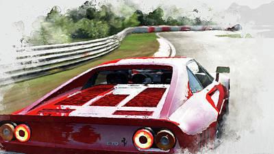 Ferrari 288 Gto - 32 Art Print by Andrea Mazzocchetti