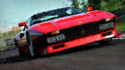 Ferrari 288 Gto - 34  Art Print by Andrea Mazzocchetti