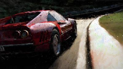 Painting - Ferrari 288 Gto - 36 by Andrea Mazzocchetti