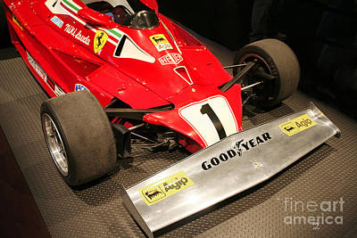 Photograph - Ferrari 312 T2 F-1 Front Wing by Curt Johnson