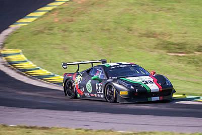 Photograph - Ferrari #33 Hill by Alan Raasch