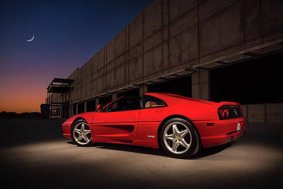 Digital Art - Ferrari 355 Gts by Douglas Pittman