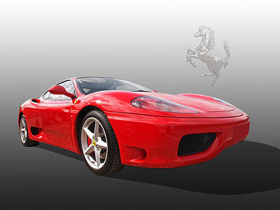 Photograph - Ferrari 360 by Gill Billington