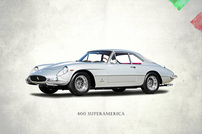 Photograph - Ferrari 400 Superamerica by Mark Rogan