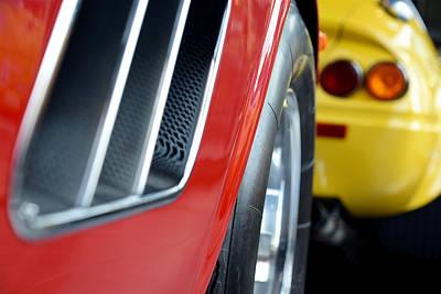 Photograph - Ferrari 410 Superamerica Front Corner Profile by ISAW Company