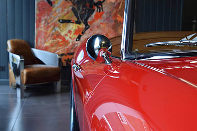 Photograph - Ferrari 410 Superamerica Side Profile by ISAW Gallery