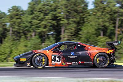 Photograph - Ferrari #43 Fromberg by Alan Raasch