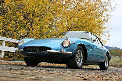 Photograph - Ferrari 500 Superfast In Blue by Steve Natale