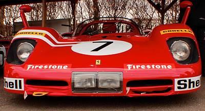 Ferrari 512 S 1969 Art Print by Robert Phelan