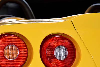 Photograph - Ferrari 550 Barchetta Pininfarina Rear Corner Profile by ISAW Company