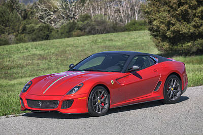 Photograph - #ferrari #599gto #print by ItzKirb Photography