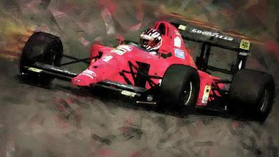 Painting - Ferrari 641 F1 - 01 by Andrea Mazzocchetti